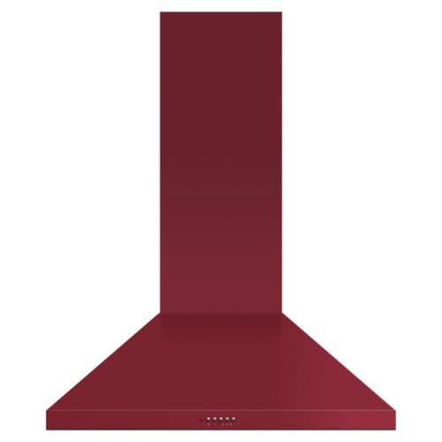 Fisher & Paykel 90cm Red Pyramid Chimney Rangehood - Betta Online Only Price