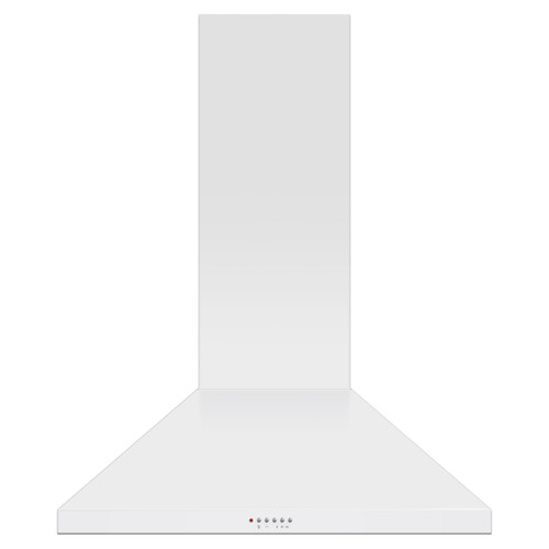Fisher & Paykel 90cm White Pyramid Chimney Rangehood - Betta Online Only Price