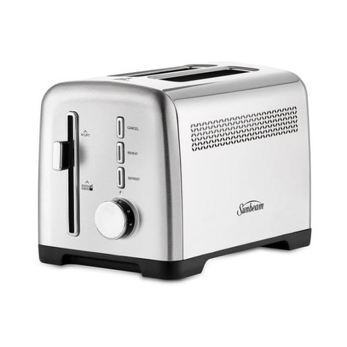 Sunbeam Fresh Start™ 2 Slice Toaster S/Steel - Betta Online Only Price