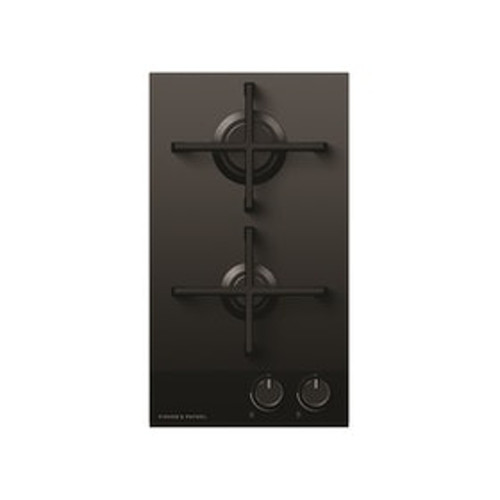 Fisher & Paykel 30cm 2 Burner LPG Gas on Glass Cooktop - Betta Online Only Price