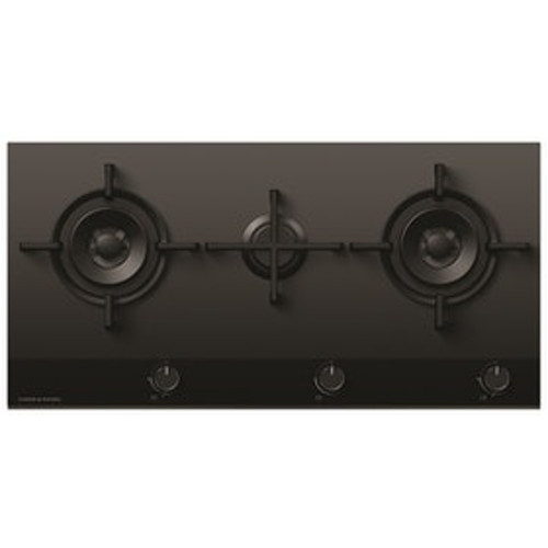 Fisher & Paykel 90cm 3 Burner LPG Gas on Glass Cooktop - Betta Online Only Price