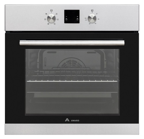 Award 60cm S/Steel 6 Function 70L Built-in Oven - Betta Online Only Price