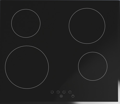 Award 60cm Black 4 Zone Ceramic Cooktop Touch Control - Betta Online Only Price