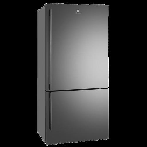 Electrolux 529L Dark S/Steel Bottom Mount Fridge/Freezer R/H - Betta Online Only Price