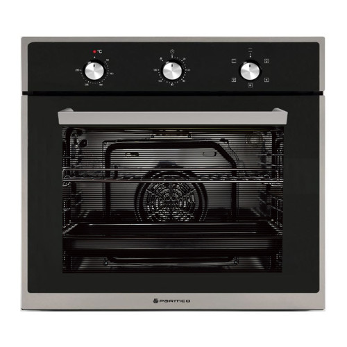 Parmco 60cm S/Steel 5 Function 76L Built-in Oven - Betta Online Only Price