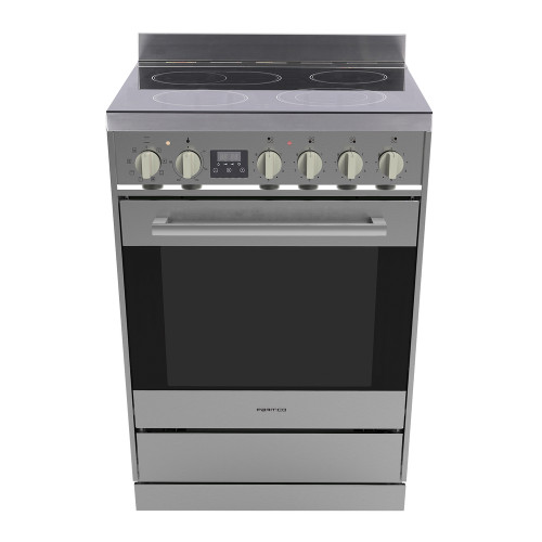 Parmco 60cm S/S Ceramic Electric 8 Function Freestanding Stove - Betta Online Only Price
