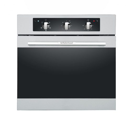 Robinhood 60cm S/Steel 5 Function 75L Built-in Oven - Betta Online Only Price