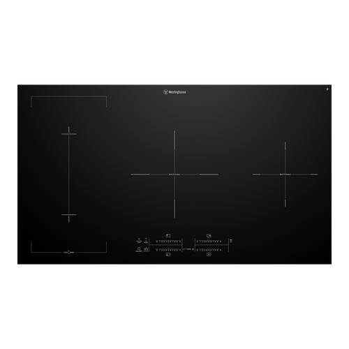 Westinghouse 90cm 4 Zone Flexizone Induction Cooktop - Betta Online Only Price