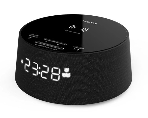 Philips Bluetooth Alarm Clock with Qi Wireless Charging