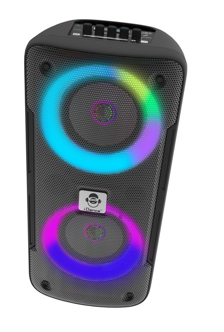 Dance Groove X Bluetooth Portable Party Speaker with Microphone