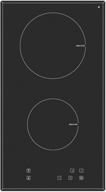 Eurotech 30cm 2 Zone Induction Cooktop