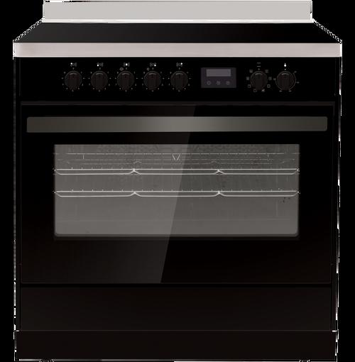 Eurotech 90cm Black 7 Function Freestanding Cooker