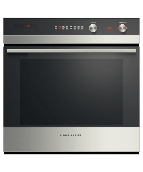 Fisher & Paykel 60cm S/Steel 7 Function Pyrolytic Built-in Oven - Betta Online Only Price