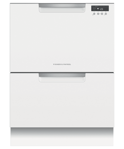 Fisher & Paykel 14 Place White Double DishDrawer™ - Betta Online Only Price