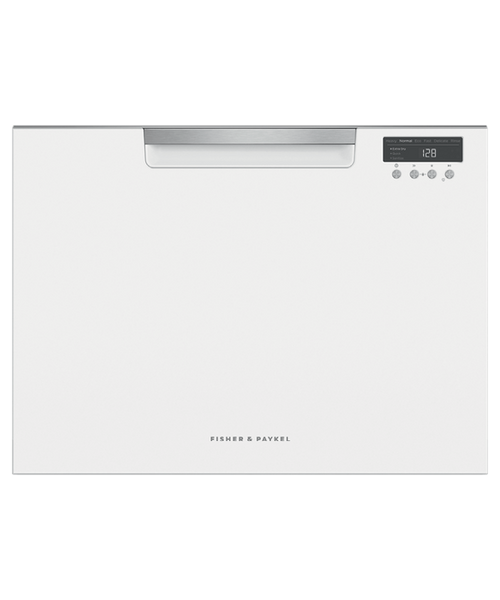 Fisher & Paykel 7 Place White Single Tall DishDrawer™ - Betta Online Only Price