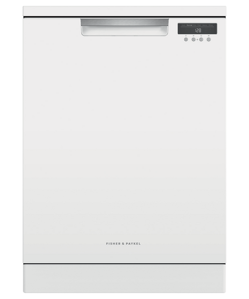 Fisher & Paykel 15 Place White Freestanding Dishwasher - Betta Online Only Price