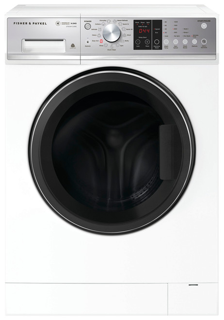 Fisher & Paykel 8.5kg Front Load Washing Machine with Steam Refresh