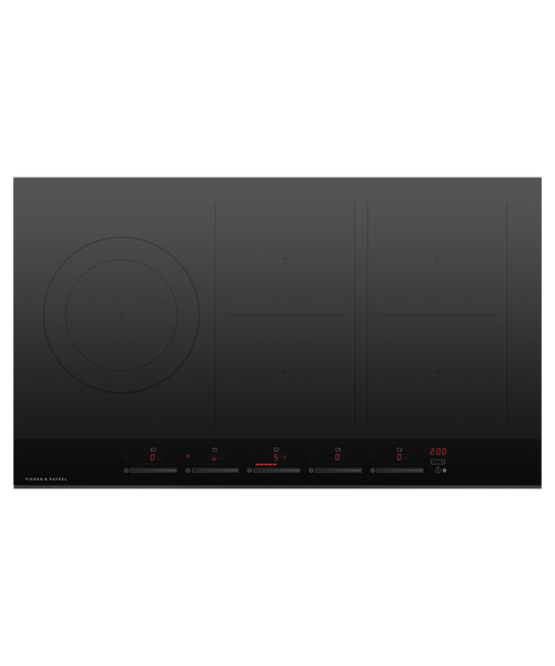 Fisher & Paykel 90cm 5 Zone Induction Cooktop with SmartZone - Betta Online Only Price
