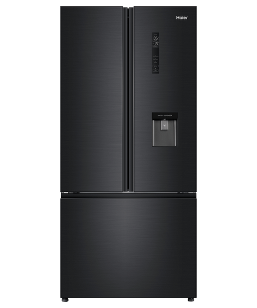 Haier 514L^ Black French Door Refrigerator with Water - Betta Online Only Price