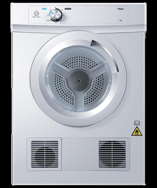 Haier 6kg Sensor Vented Dryer - Betta Online Only Price