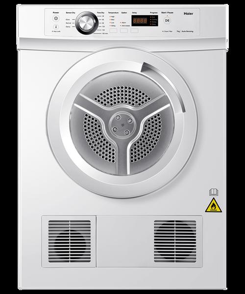 Haier 7kg Sensor Vented Dryer - Betta Online Only Price