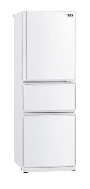Mitsubishi Electric 306L White Two Drawer Fridge/Freezer Designer Mini Series - Betta Online Only Price