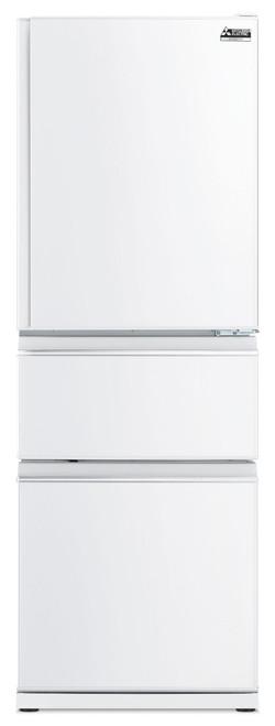 Mitsubishi Electric 370L White Multi Drawer Fridge/Freezer - Betta Online Only Price