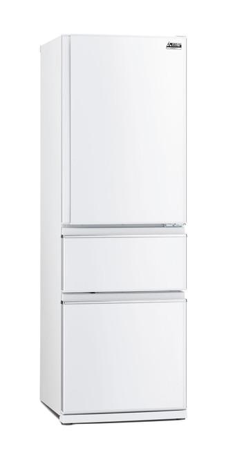 Mitsubishi Electric 370L White Multi Drawer Fridge/Freezer Left Hand - Betta Online Only Price