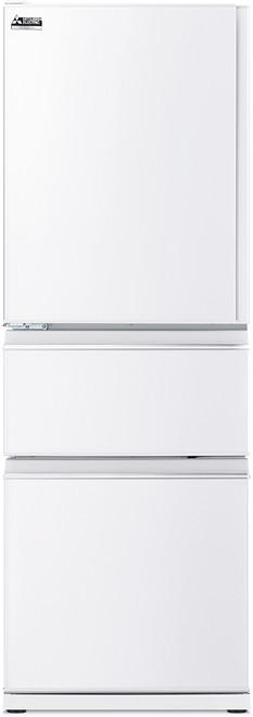 Mitsubishi Electric 402L White Multi Drawer Fridge/Freezer Left Hand - Betta Online Only Price