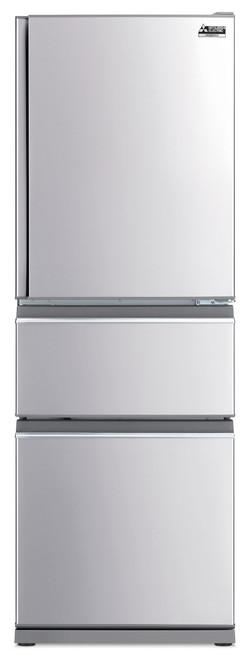 Mitsubishi Electric 402L S/Steel Multi Drawer Fridge/Freezer Left Hand - Betta Online Only Price