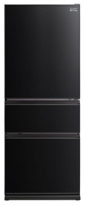 Mitsubishi Electric 492L Black Glass Multi Drawer Fridge/Freezer Wide Designer Series - Betta Online Only Price
