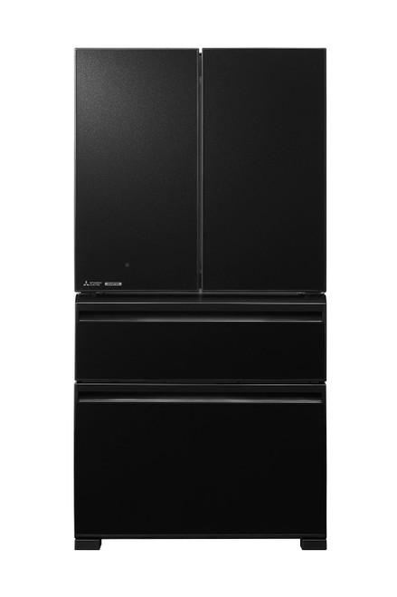 Mitsubishi Electric 630L Black LX Grande French Door Refrigerator Designer Series - Betta Online Only Price