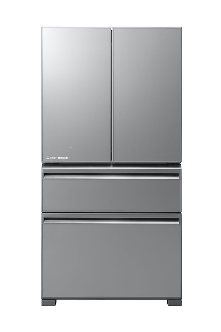 Mitsubishi Electric 630L Silver LX Grande French Door Refrigerator - Betta Online Only Price