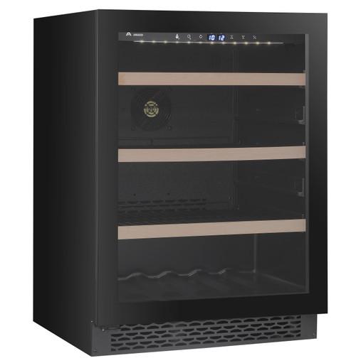 Award 135L Black Undercounter Beverage Fridge - Betta Online Only Price
