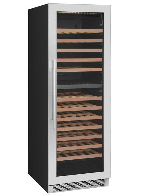 Award S/Steel Upright Dual Zone Wine Fridge - Betta Online Only Price