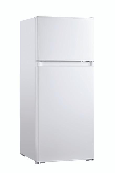Eurotech 128L White Top Mount Fridge/Freezer - Betta Online Only Price