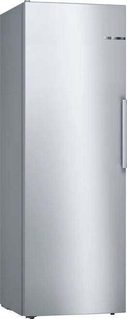 Bosch 326L S/Steel Vertical Refrigerator Series 4 - Betta Online Only Price