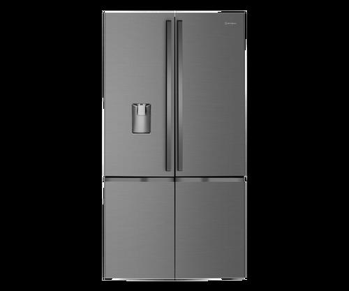 Westinghouse 541L Dark S/Steel French Quad Door Ice & Water Fridge/Freezer - Betta Online Only Price