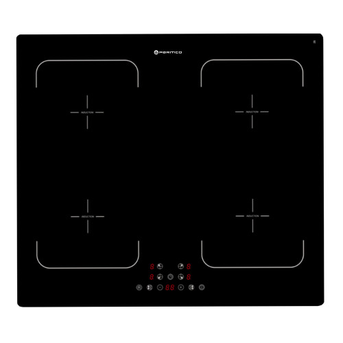Parmco 60cm Black 4 Zone Frameless Induction Cooktop - Betta Online Only Price