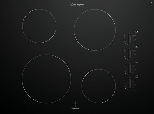 Westinghouse 70cm 4 Zone Ceramic Cooktop - Betta Online Only Price