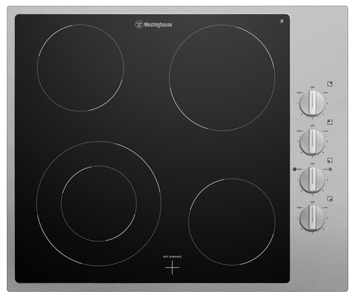 Westinghouse 60cm 4 Zone Ceramic Dual Zone Cooktop - Betta Online Only Price