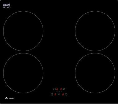 Award 60cm Black 4 Zone Induction Cooktop - Betta Online Only Price