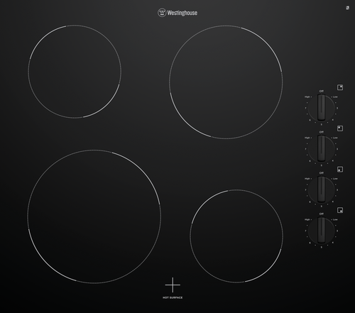 Westinghouse 60cm 4 Zone Ceramic Cooktop - Betta Online Only Price
