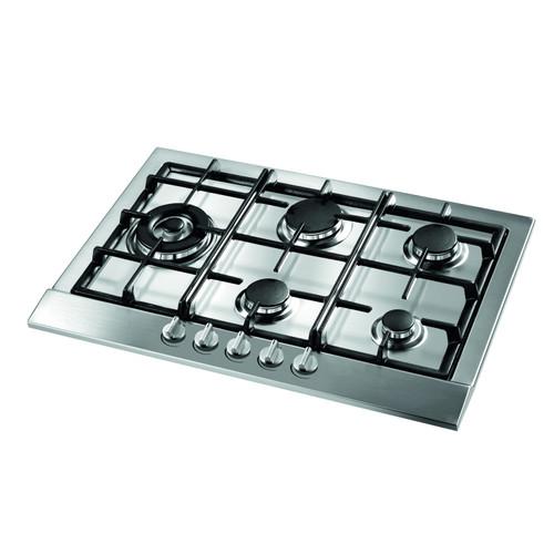 Award 72cm S/Steel 5 Burner Gas Cooktop with Wok Burner - Betta Online Only Price