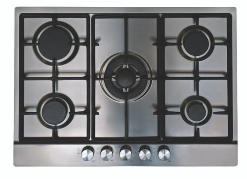 Eurotech 70cm S/Steel Gas 5 Burner Cooktop - Betta Online Only Price