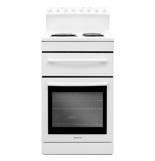 Parmco 54cm White Coil Electric Freestanding Cooker - Betta Online Only Price