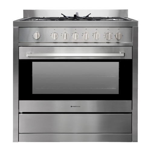 Parmco 90cm S/Steel Gas/Gas Freestanding Cooker - Betta Online Only Price