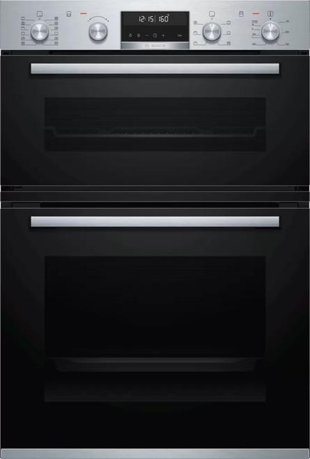 Bosch 60cm S/Steel Built-in Double Oven - Betta Online Only Price