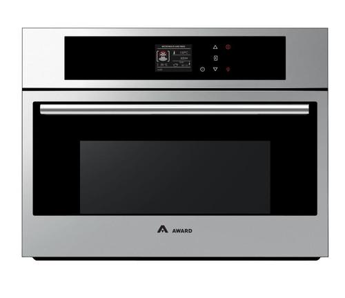 Award 60cm S/Steel 10 Function Combination Built-in Oven - Betta Online Only Price