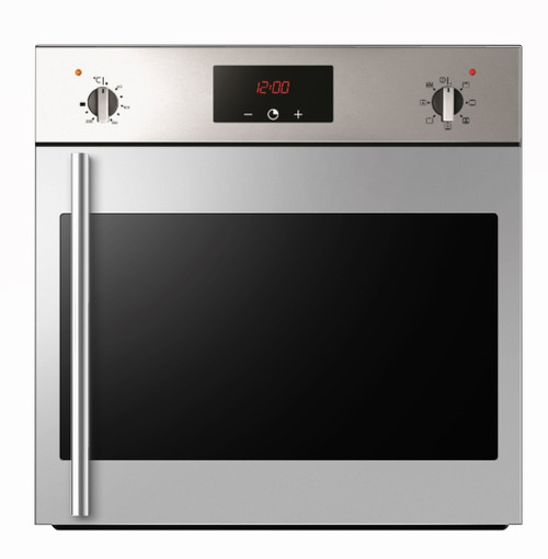 Award 60cm S/Steel 9 Function Built-in Oven with Side Opening Door - Betta Online Only Price